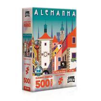 Quebra-Cabeça Postais da Europa Alemanha 500 Peças Toyster 2616A -