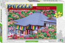 Quebra-Cabeça - Primavera no Japão - 260 Peças - Nig Brinquedos -