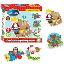Quebra-Cabeça - Progressivo - Pequeno Príncipe - Madeira - 30 peças - Nig - Nig brinquedos