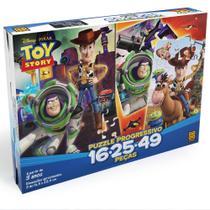 Quebra Cabeça Progressivo Puzzle Toy Story Disney Grow -
