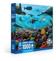 Quebra Cabeça Puzzle 1000 Peças Criaturas Marinhas - Toyster -