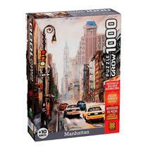 Quebra cabeça Puzzle 1000 peças Manhattan Grow -