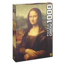 Quebra-Cabeça Puzzle 1000 Peças Monalisa 03089 Grow -