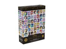 Quebra Cabeça Puzzle 1000 Peças Princesas - Grow -