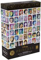 Quebra-cabeça puzzle 1000 peças princesas - grow -