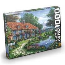 Quebra Cabeça Puzzle 1000 Peças Recanto Dos Cisnes 3458 - Grow -