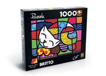 Quebra-Cabeça Puzzle 1000 Peças - Romero Britto - Grow -