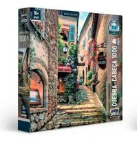 Quebra Cabeça Puzzle 1000 Peças Vielas Francesas Escada - Toyster
