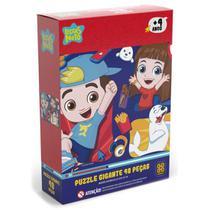 Quebra Cabeça Puzzle Gigante Luccas Neto 48 Peças Grow 03766 -