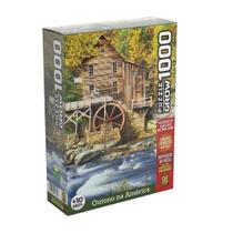 Quebra-Cabeça Puzzle Outono na América 1000 Peças - Grow -