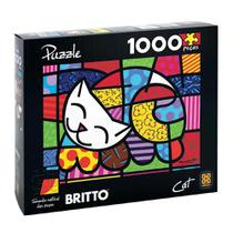 Quebra-Cabeça Romero Britto - Cat 1000 peças - Grow