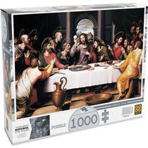 Quebra Cabeça Santa Ceia 1000 peças Grow - 01393 -