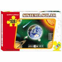 Quebra-Cabeça - Sistema Solar - 108 peças - NIG - Nig brinquedos