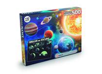 Quebra-Cabeça Sistema Solar 500 peças 03727 - Grow -
