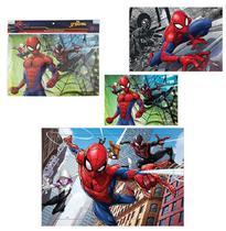 Quebra Cabeça Spiderman Homem Aranha 63 Peças - Etilux