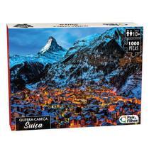 Quebra Cabeça Suíça 1000 Peças - 143971-H - Pais & Filhos