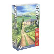 Quebra-Cabeça - Toscana - 1000 Peças - Grow -
