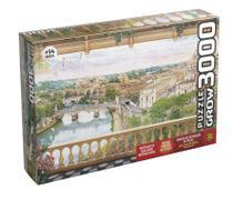 Quebra-cabeça Varanda em Roma 3000pçs - Grow -
