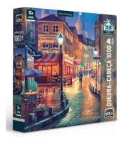 Quebra-cabeça Vielas Francesas 1000 Peças Game Office -