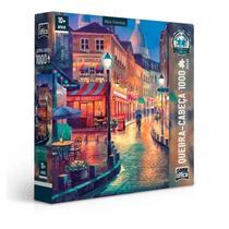 Quebra Cabeça  Vielas Francesas - 1000 Peças - Toyster -