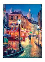 Quebra Cabeça Vielas Francesas Bares Noturnos 2517 - Toyster - Game Office