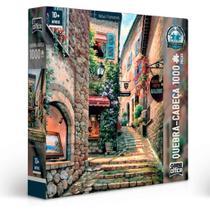 Quebra-cabeça Vielas Francesas -Escadaria- 1000 peças - Game Office