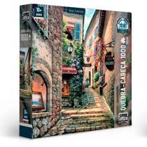 Quebra Cabeça  Vielas Francesas - Escadaria - 1000 Peças - Toyster -