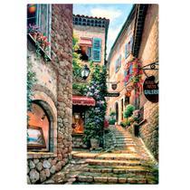 Quebra-Cabeça - Vielas Francesas - Escadarias - 1000 Peças - Toyster -