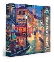 Quebra Cabeça Vielas Francesas Ruas Noite Puzzie 1000 Peças - Toyster