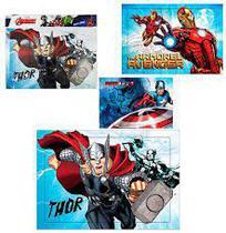 Quebra Cabeça Vingadores 63 Peças Avengers 26X37cm - 134746 - Etilux