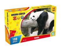 Quebra Cabeça Zoo 108 Peças Panda - Nig Briqnuedos -