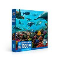 Quebra - Cabeças de 500 Peças - Criatura Marinhas - Grow -