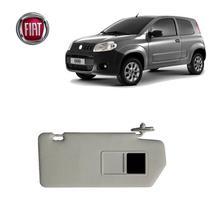 Quebra Sol Fiat Uno Way 2018 Cinza Com Espelho LE - Nwt