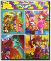 Quebrando a cuca - aventura 01 (contém 1 livro p/colorir 3 quebra-cabeças) - Cedic -