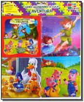 Quebrando a cuca - aventura 02 (contém 1 livro p/colorir 3 quebra-cabeças) - Cedic -