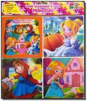 Quebrando a cuca - princesas 03 (contém 1 livro p/colorir 3 quebra-cabeças) - Cedic -