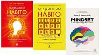 Quebrando O Hábito + O Poder Do Hábito + Mindset - Várias Editoras