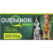 Queranon 10 g Pele e pelagem vitamina cápsulas para cães - Avert