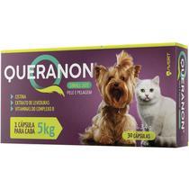 Queranon 3,4 g Small Size suplemento cápsulas cães e gatos - Avert