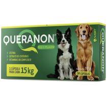 Queranon avert previne queda de pelos para cães acima 15kg -