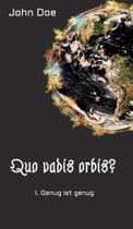 Quo vadis Orbis? - Tredition -