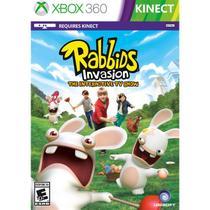 Rabbids Invasion Kinect Game Infantil Para Xbox 360 Ubisoft -