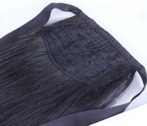 Rabo de cavalo cabelo humano liso ondulado 60cm/100g - Universo Capilar