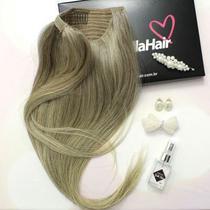 RABO DE CAVALO Humano Liso Yasmin 70 cm - Bella Hair