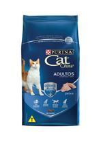 Ração cat chow adultos sabor peixe -