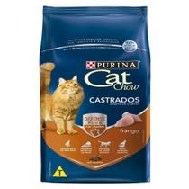 Ração Cat Chow Castrados Frango - 10,1 Kg - Nestlé Purina -