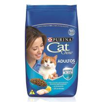 Ração Cat Chow Peixe para Gatos Adultos -10.1 Kg - PURINA