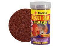 Ração Discus Gran D-50 Plus 110g Tropical Para Peixe Discus -