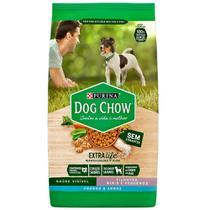Ração Dog Chow para Filhotes sabor Frango e Arroz Raças Pequenas e Minis 1 Kg - PURINA
