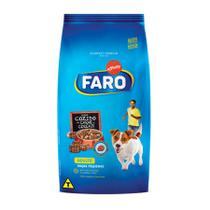 Ração Faro Cães Adultos Raças Pequenas Carne e Cereais 10kg - 10,1kg -